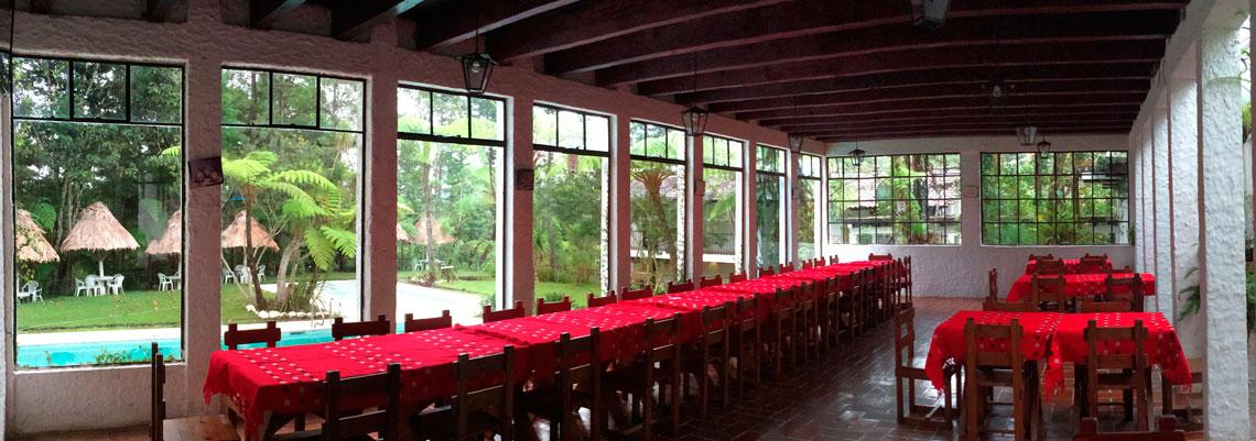 Paquetes familiares hotel posada monta a del quetzal cob n for Hotel familiar montana